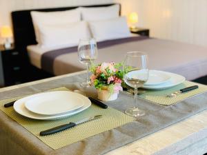 مطعم أو مكان آخر لتناول الطعام في شاليه ماريا إنترلاكن
