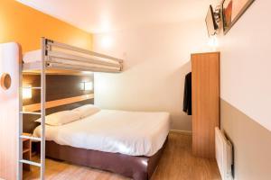 Un ou plusieurs lits superposés dans un hébergement de l'établissement Premiere Classe Annecy Nord - Epagny