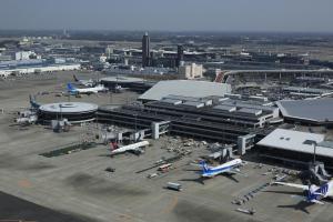 A bird's-eye view of Narita Airport Rest House