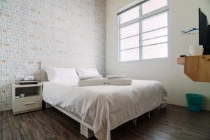 房小屋 房間的床