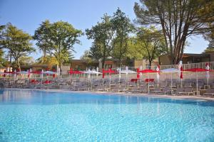 The swimming pool at or near Apartments Park Plava Laguna
