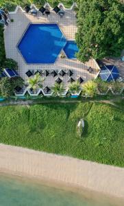 Uitzicht op het zwembad bij Siam Bayshore Resort Pattaya of in de buurt
