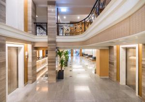 The lobby or reception area at D&D Inn Khaosan