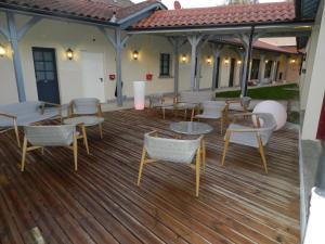 Restaurant ou autre lieu de restauration dans l'établissement Hôtel - Spa - Restaurant LA VENISE VERTE