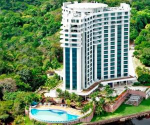 A bird's-eye view of Flats Tropical com Varanda