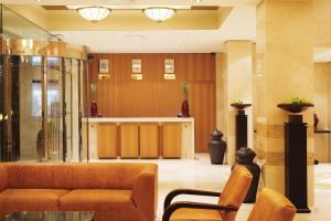 Lobby/Rezeption in der Unterkunft Divani Palace Larissa