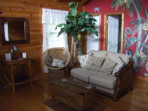 A seating area at Black Forest Bed & Breakfast