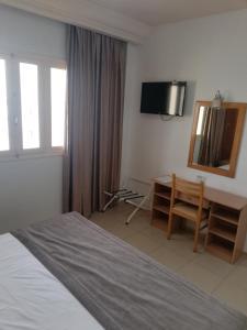 تلفاز و/أو أجهزة ترفيهية في Hotel Yasmine