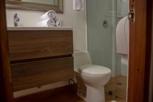 Salle de bains dans l'établissement Casa Villa Colonial By Akel Hotels