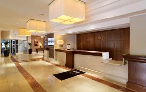 The lobby or reception area at DoubleTree by Hilton Sheffield Park