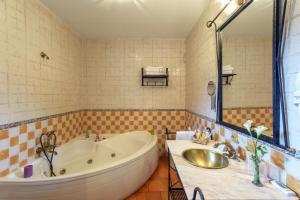 Un baño de Hotel Rural Los Angeles en Las Hurdes