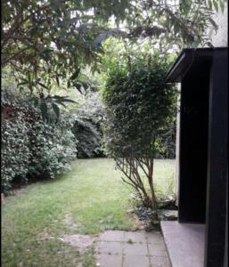 A garden outside Chez Mimi - chambre vue parc