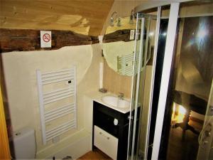 Salle de bains dans l'établissement Appartement au bord de l'Eure