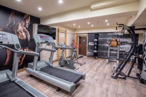 Centrum fitness w obiekcie Park Hotel Diament Wroclaw