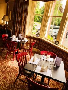 A restaurant or other place to eat at Dryburgh Abbey Hotel