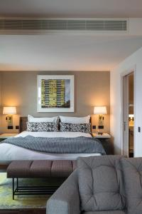 A bed or beds in a room at Bankside Hotel, Autograph Collection