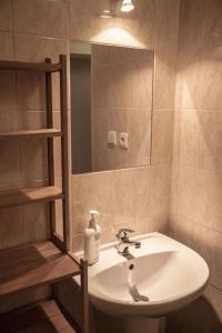 Koupelna v ubytování Apartments Emma