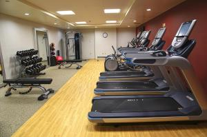 The fitness center and/or fitness facilities at Doubletree By Hilton Helena Downtown