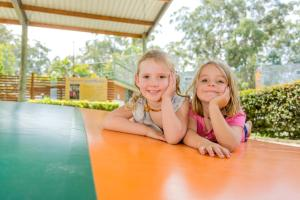Children staying at BIG4 NRMA South West Rocks Holiday Park