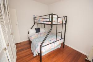 A bunk bed or bunk beds in a room at Ocean View Getaway
