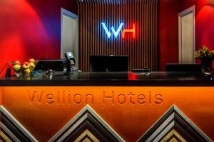 The lobby or reception area at Wellion Vodniy