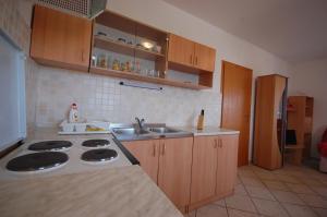 A kitchen or kitchenette at Apartments Novak