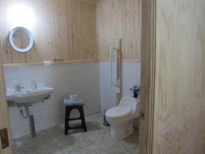 A bathroom at Centro Ecuestre Hipomedano