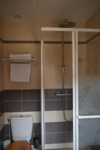 Salle de bains dans l'établissement Gite d'étape Azkorria