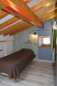 A bed or beds in a room at Gite d'étape Azkorria
