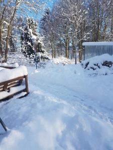 Borstel - Alte Schmiede im Winter