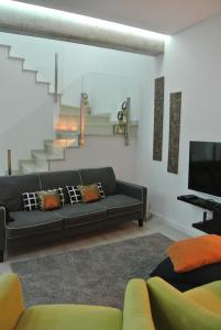 A seating area at Aba House