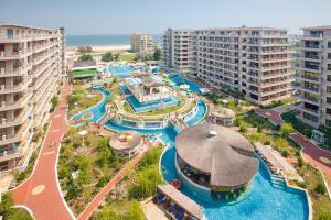 A bird's-eye view of Phoenicia Holiday Resort