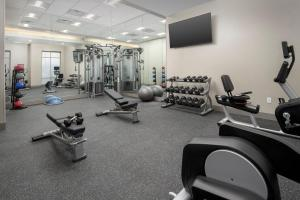 The fitness center and/or fitness facilities at Residence Inn By Marriott Bend