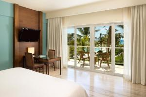 A television and/or entertainment center at Westin Puntacana Resort & Club