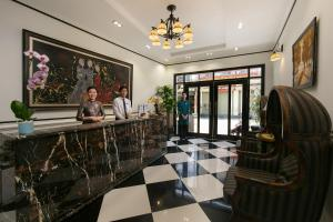 The lobby or reception area at Hanoi Garden Boutique Hotel & Spa