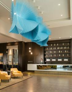 The lobby or reception area at Centro Westside by Rotana