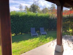 Jardín al aire libre en The Cool Houses