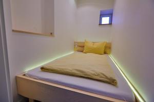 Ein Bett oder Betten in einem Zimmer der Unterkunft Urlaubsreiterhof Trunk
