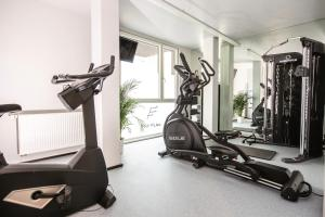 The fitness center and/or fitness facilities at THE FLAG Zürich