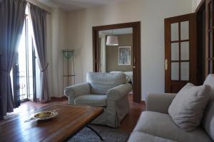 Zona de estar de Apartamentos Turísticos Espinel