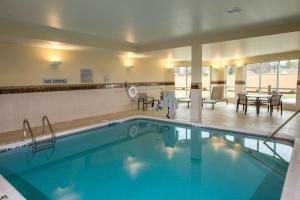 The swimming pool at or near Courtyard by Marriott Somerset