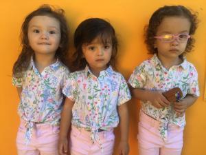 Niños alojados en Hotel Central Boquete