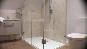 A bathroom at White Hart Hotel