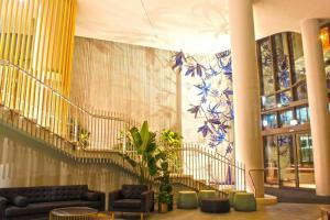 The lobby or reception area at Spire Brisbane HIGHRISE 1BED IN HEART OF CBD