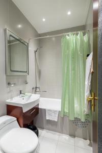 Ванная комната в Гостиница «Ленина отель»