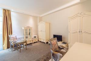 Гостиная зона в Гостиница «Ленина отель»