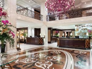 The lobby or reception area at Hotel Baltschug Kempinski Moscow