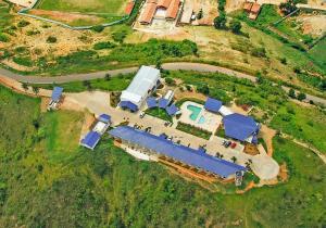Uma vista aérea de Hotel Fazenda Triunfo