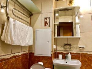 Ванная комната в Apartment Hanaka Novokyzminskaya