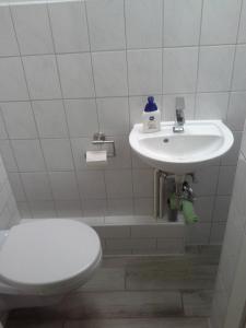 A bathroom at Apartment Schulz